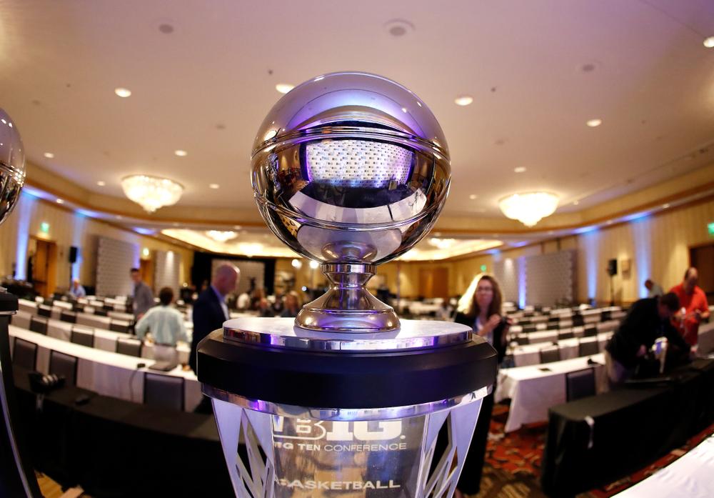 2019-20 Big Ten Men's Basketball Media Day Photo by Steve Woltmann
