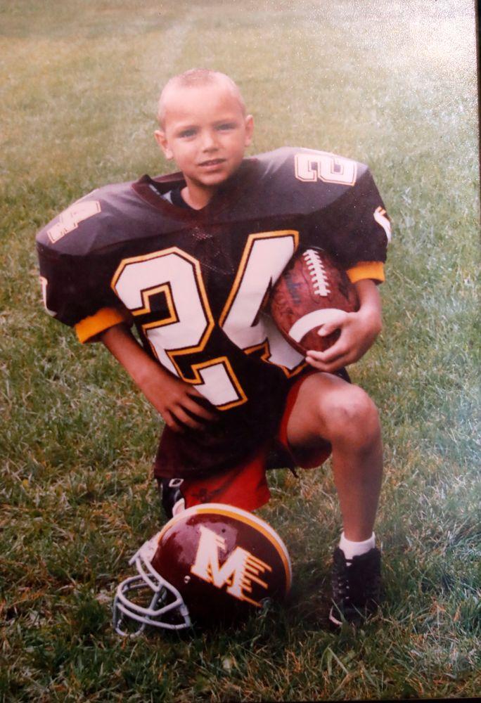 Photos for Iowa Hawkeyes quarterback Nathan Stanley (4) as a kid Wednesday, May 30, 2018 in Menomonie, Wisc. (Brian Ray/hawkeyesports.com)