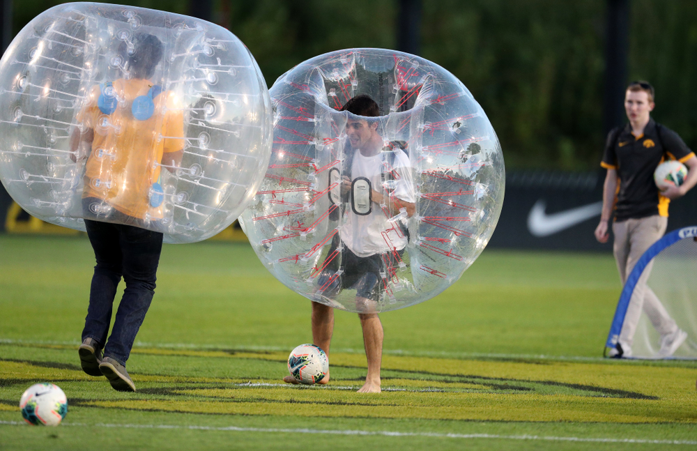 Knocker Soccer during the Iowa Hawkeyes game against Western Michigan Thursday, August 22, 2019 at the Iowa Soccer Complex. (Brian Ray/hawkeyesports.com)