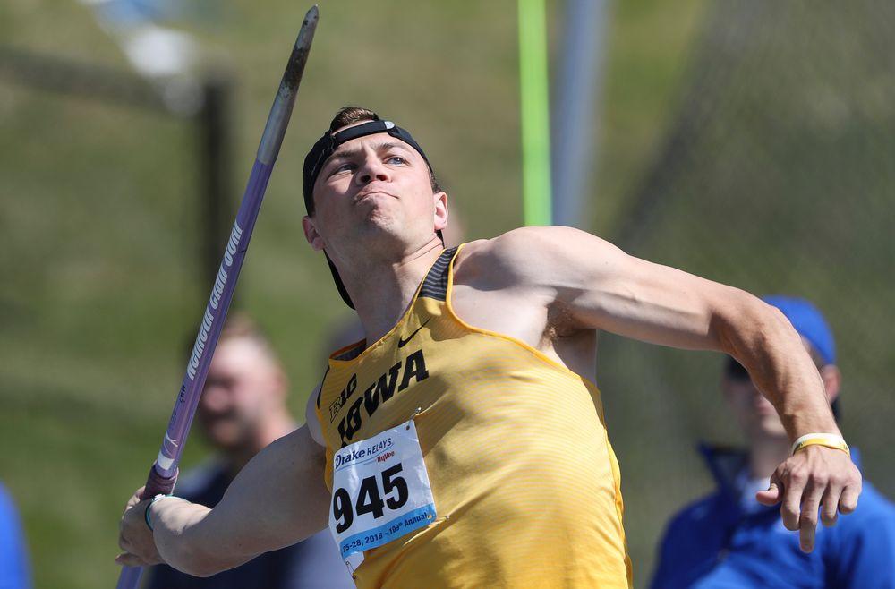 Iowa's Alex Balke