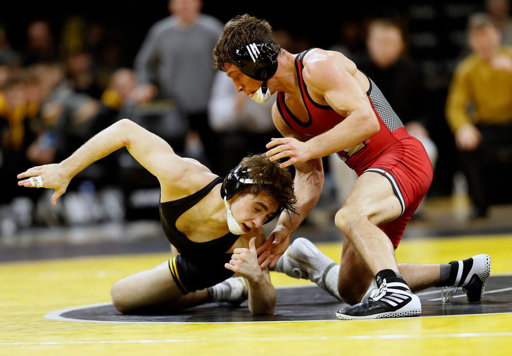 Austin DeSanto  (Darren Miller/hawkeyesports.com)