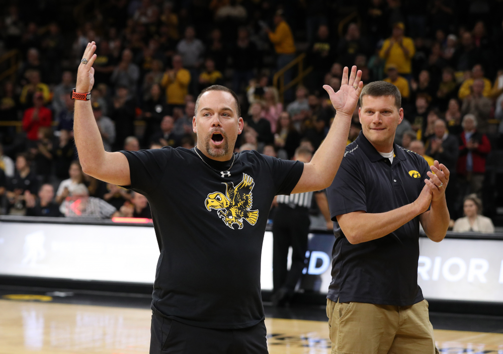 Wounded Warrior against UW Green Bay Sunday, November 11, 2018 at Carver-Hawkeye Arena. (Brian Ray/hawkeyesports.com)