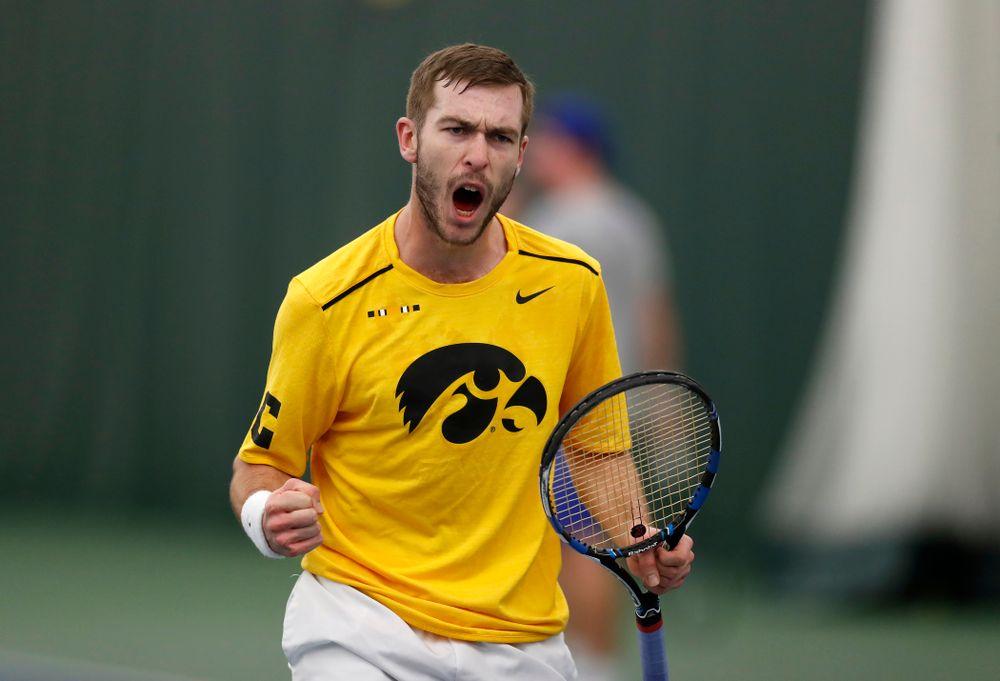 Iowa's Jake Jacoby against Creighton