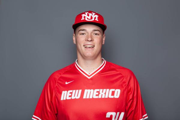 Justin  Armbruester - Baseball - University of New Mexico Lobos Athletics