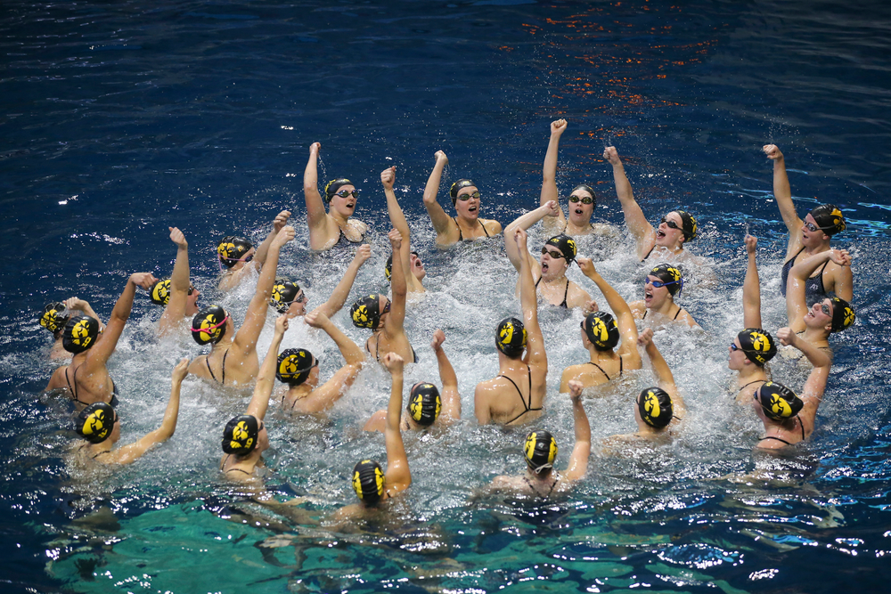 Iowa Hawkeyes during Iowa women's swimming and diving vs Rutgers on Friday, November 8, 2019 at the Campus Wellness and Recreation Center. (Lily Smith/hawkeyesports.com)