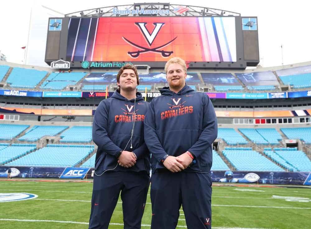 UVA Football in Charlotte for ACC Championship Game