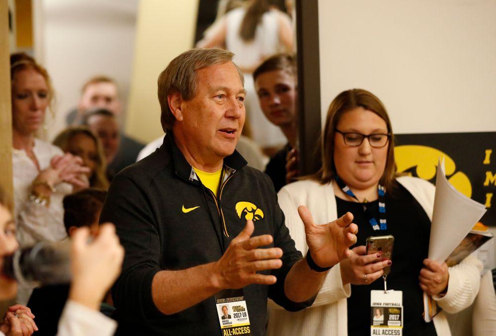University of Iowa President Bruce Harreld