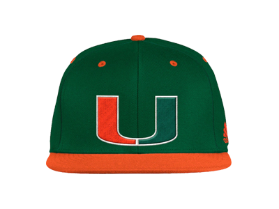 adidas Hurricanes On-Field Baseball Fitted Hat