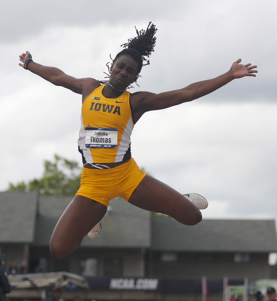 Jahisha Thomas -- Long Jump