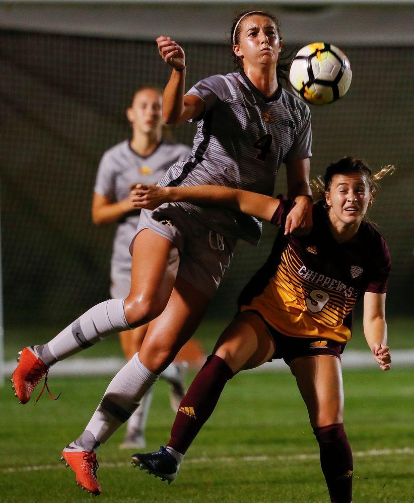 Iowa Hawkeyes forward Kaleigh Haus (4)