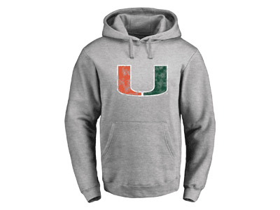 Hurricanes Classic Primary Logo Pullover Hoodie