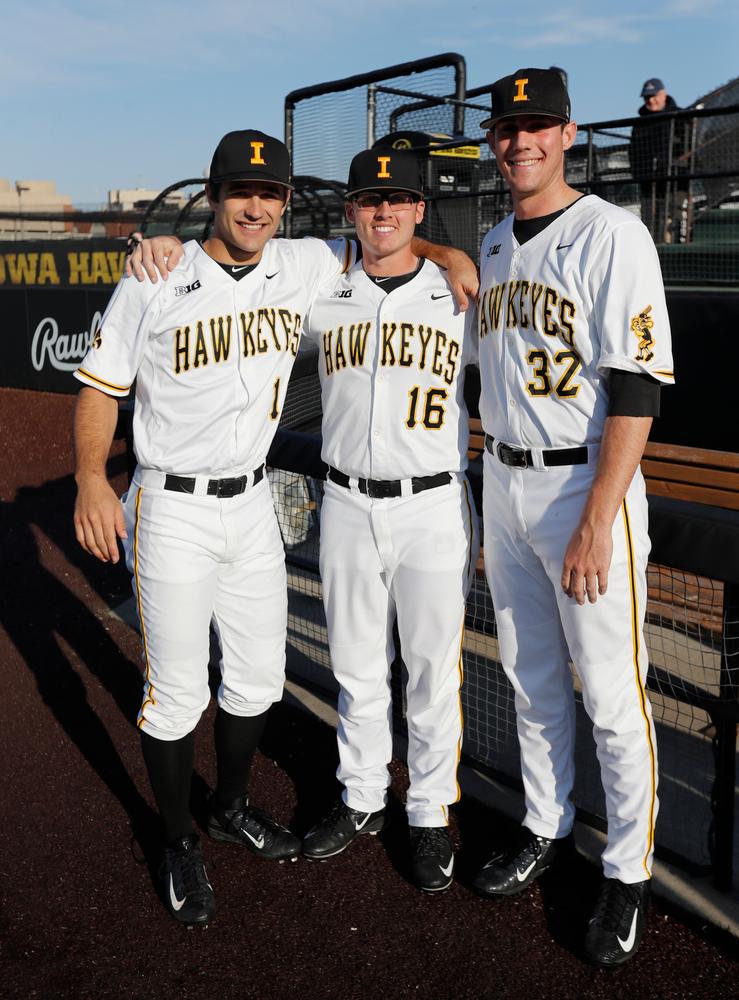 Corbin Woods (14),Zach Fricke (16), Sam Norman (32)