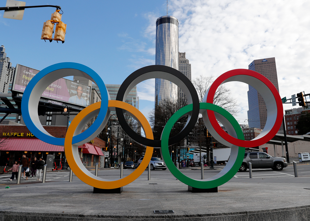 Olympic Rings 1996 Summer Games