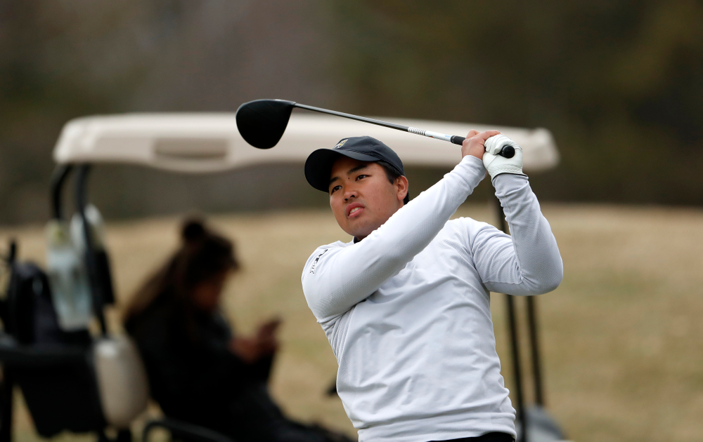 Ryoto Furuya during the 2018 Hawkeye Invitational  Friday, April 13, 2018 at Finkbine Golf Course. (Brian Ray/hawkeyesports.com)