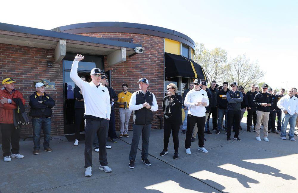 The 2019 Iowa Baseball golf outing Friday, May 10, 2019 at Finkbine Golf Course. (Brian Ray/hawkeyesports.com)