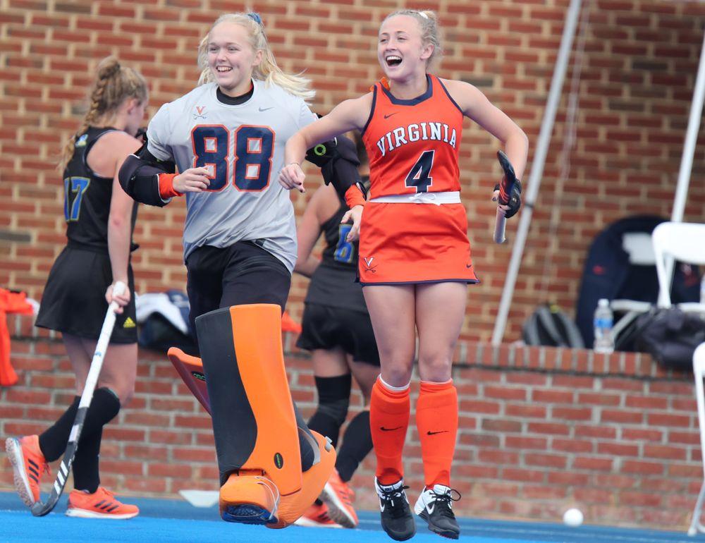 NCAA Field Hockey First Round vs. Delaware - UVA 4 - UD 1