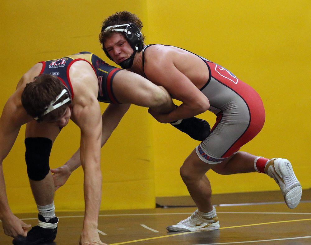 141 -- Justin Stickley tech. fall Cam Shaver, 20-2