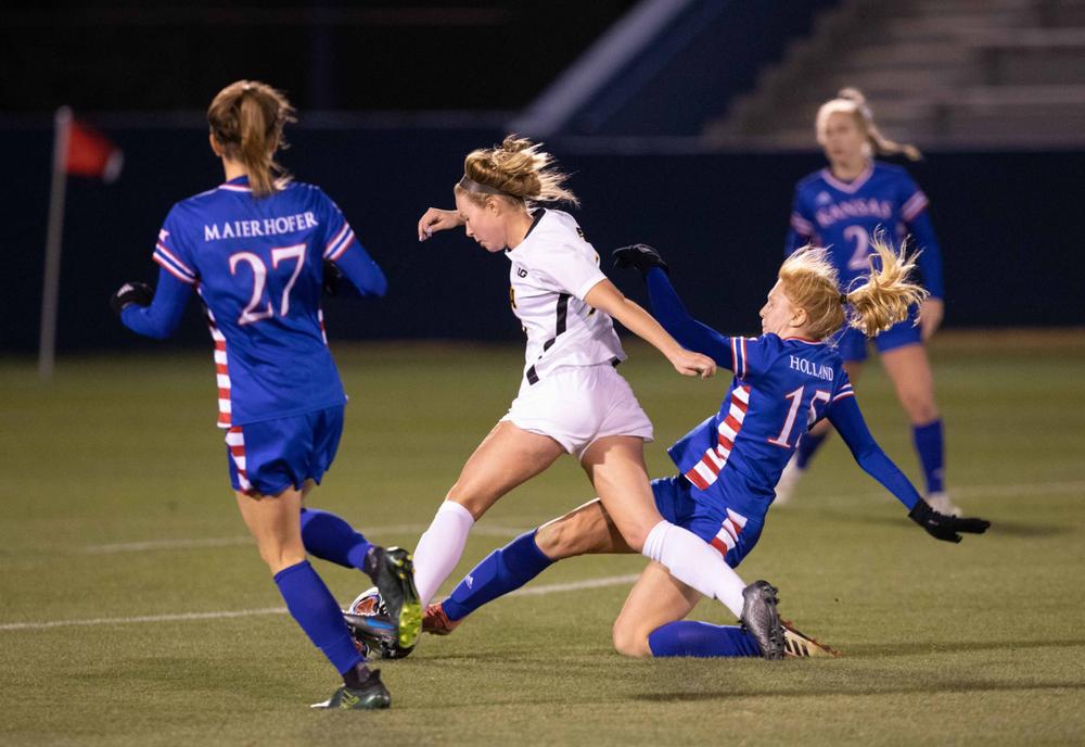 Natalie Winters NCAA Tournament Iowa at Kansas Nov. 16, 2019