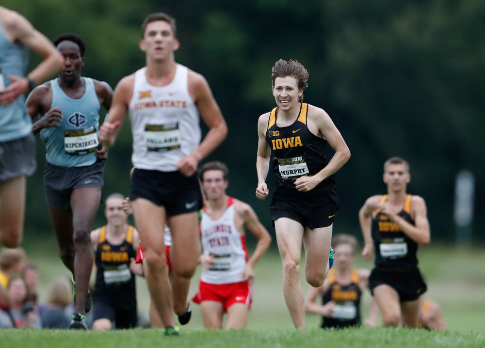 Daniel Murphy during the Hawkeye Invitational Friday, August 31, 2018 at the Ashton Cross Country Course.  (Brian Ray/hawkeyesports.com)