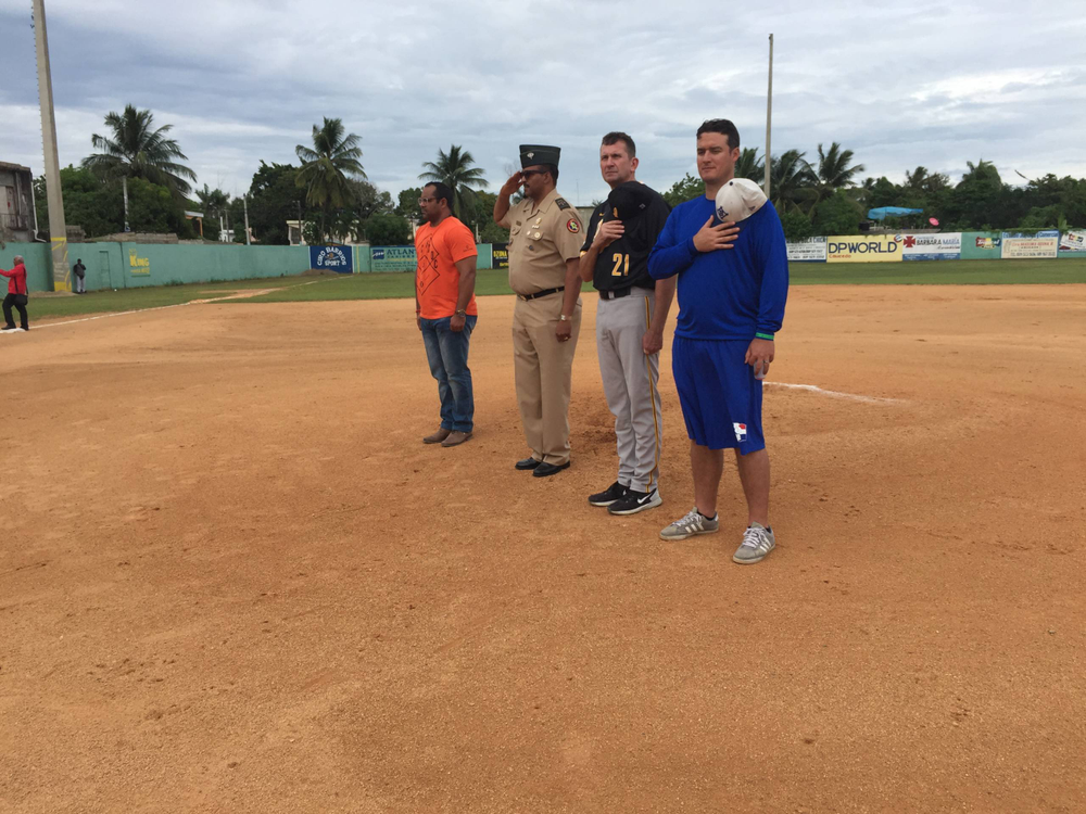Rick Heller, President of Dominican National Army 