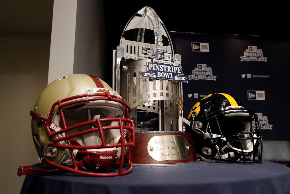 New Era Pinstripe Bowl News Conference