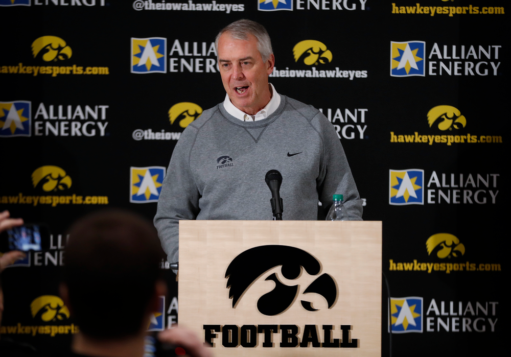 University of Iowa Athletics Director Gary Barta