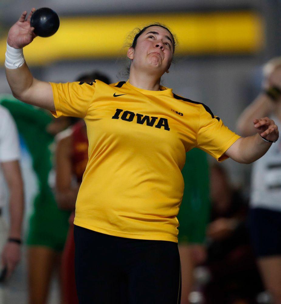Konstadina Spanoukakis (Darren Miller/hawkeyesports.com)