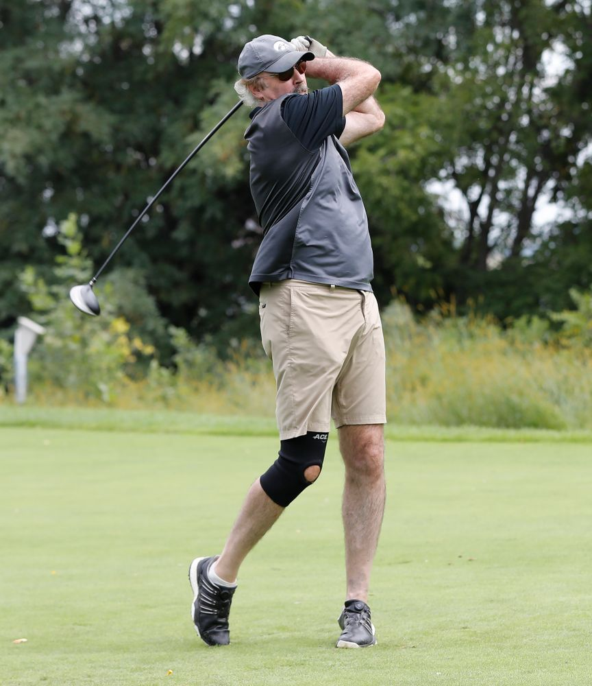 Kevin Boyle the 2018 Chris Street Memorial Golf Outing Monday, August 27, 2018 at Finkbine Golf Course. (Brian Ray/hawkeyesports.com)