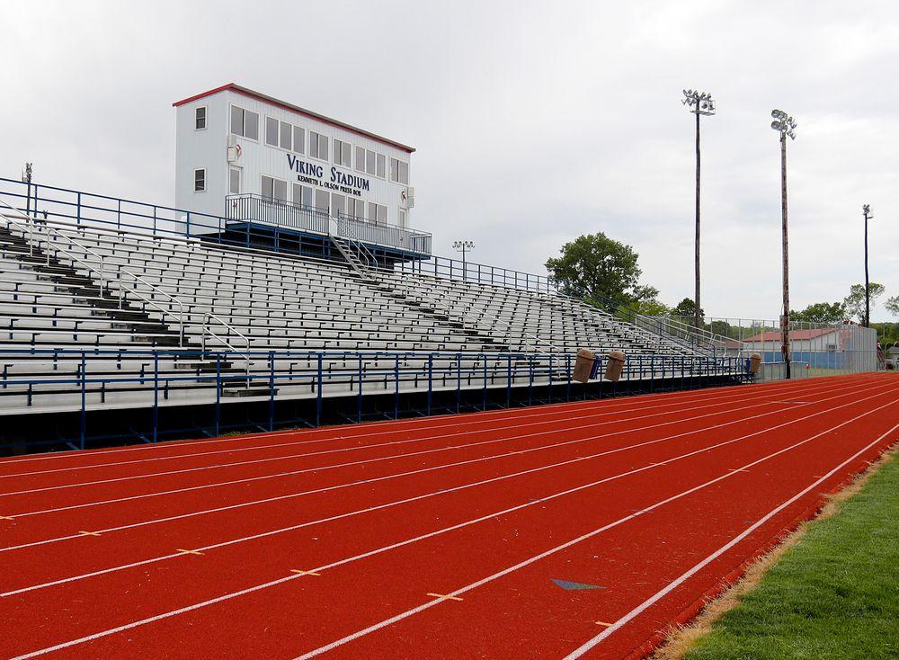 Decorah High School football field